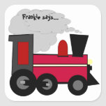 Personalice a su pegatina del tren