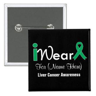 Personalice al cáncer de hígado de la cinta del pin cuadrado