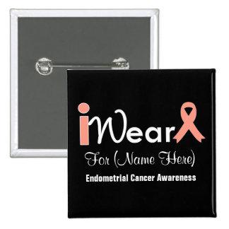 Personalice al cáncer endometrial de la cinta del  pins
