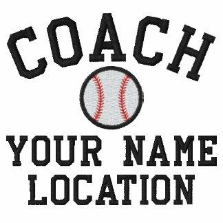 ¡Personalice al entrenador de béisbol su nombre su Chaqueta De Entrenamiento