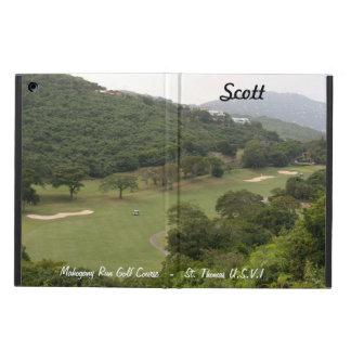 (Personalice) campo de golf del funcionamiento de