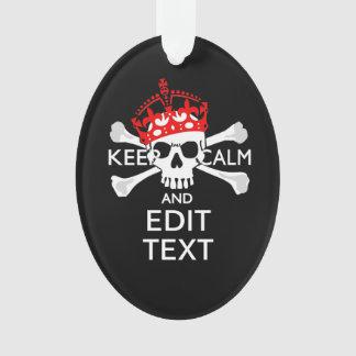 Personalice con el texto guardan el cráneo tranqui