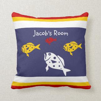 Personalice con la almohada conocida de los cojín decorativo