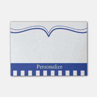 Personalice el azul eléctrico con clase post-it® nota