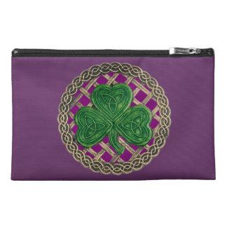 Personalice el bolso púrpura del accesorio del