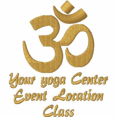 Personalice el bordado de la yoga de la espiritual chaqueta de entrenamiento