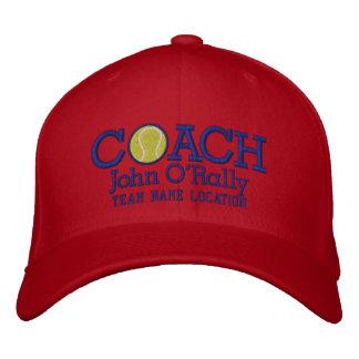 Personalice el casquillo del coche de tenis su gorra bordada