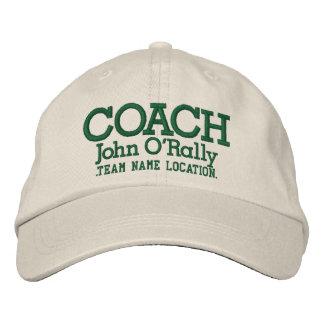 Personalice el casquillo del coche su nombre su ju gorra de béisbol