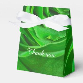 Personalice - el centro floral del rosa verde de caja para regalo de boda