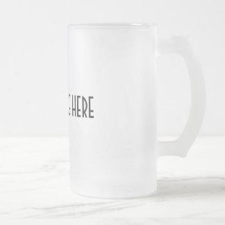 PERSONALICE el ~ crean su propia taza de cerveza