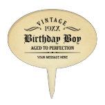 Personalice el cumpleaños divertido palillos de tarta