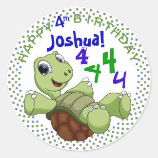 PERSONALICE el feliz cumpleaños de la tortuga lind