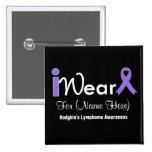 Personalice el linfoma de Hodgkin violeta de la ci Pin