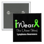 Personalice el linfoma de la cinta de la verde lim pins