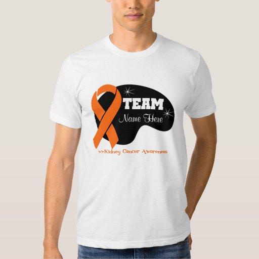 Personalice el nombre del equipo - cáncer del camisas
