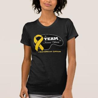 Personalice el nombre del equipo - Neuroblastoma T-shirts
