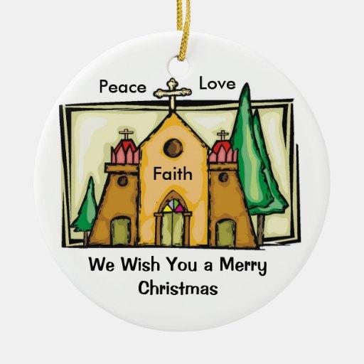 personalice el ornamento de cerámica adornos de navidad