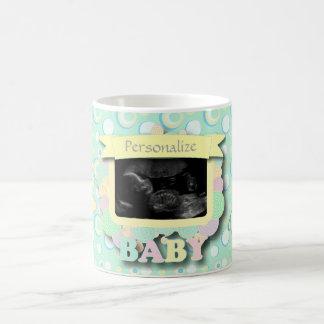 Personalice el recuerdo del bebé del Sonogram Taza