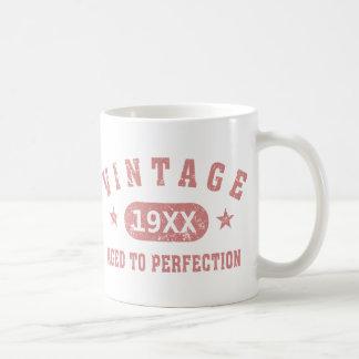 Personalice el vintage envejecido a la perfección  tazas de café