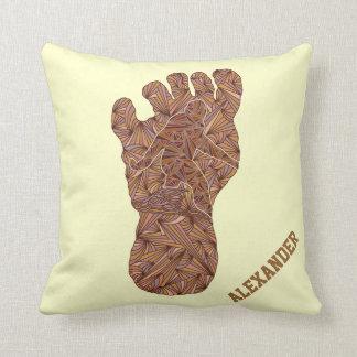 Personalice esta almohada de Bigfoot Sasquatch