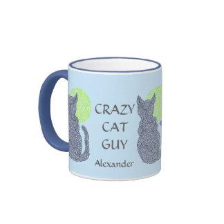 Personalice esta taza de café loca del individuo d