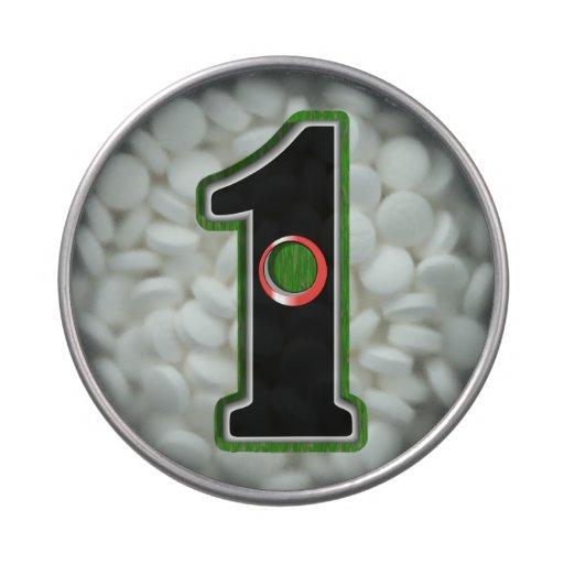 ¡Personalice este agujero afortunado del golfista  Latas De Caramelos