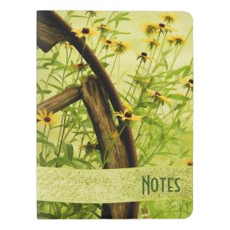 Personalice: Flores del verano - Susans Funda Para Libreta Y Libreta Extra Grande Moleskin