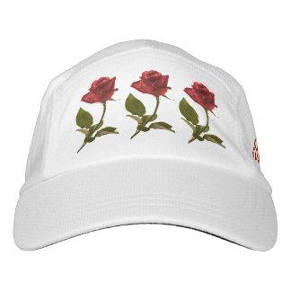 Personalice:  Foto de la naturaleza del rosa rojo Gorras De Alto Rendimiento