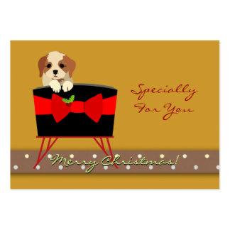 Personalice la etiqueta del regalo de vacaciones d tarjeta personal