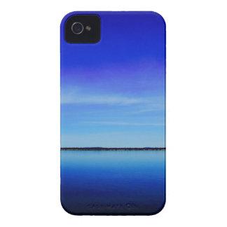Personalice la fotografía del océano del azul de iPhone 4 coberturas