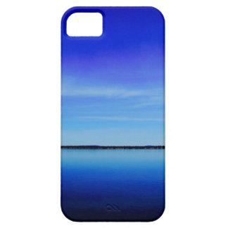 Personalice la fotografía del océano del azul de iPhone 5 funda