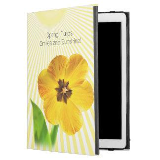 Personalice la fotografía floral del tulipán