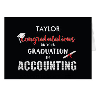 Personalice la graduación conocida Congratulat de Tarjeta De Felicitación