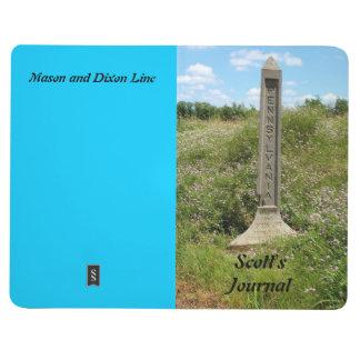 Personalice la línea foto de Dixon del albañil Cuaderno Grapado