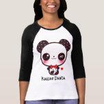 Personalice la panda de Kawaii Camiseta