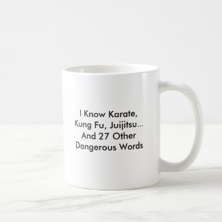 Personalice la taza peligrosa mortal divertida