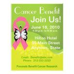 Personalice la ventaja Fundraising del cáncer de p Tarjetas Publicitarias