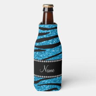 Personalice las rayas conocidas de la cebra del enfriador de botellas