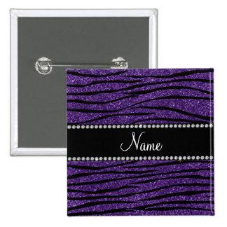 Personalice las rayas púrpuras conocidas de la ceb pins