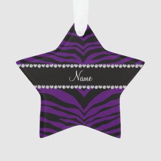 Personalice las rayas púrpuras conocidas del tigre