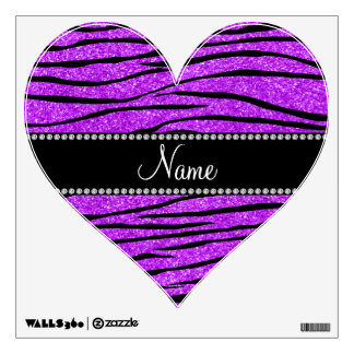 Personalice las rayas púrpuras de neón conocidas d