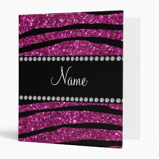 Personalice las rayas rosadas conocidas de la cebr