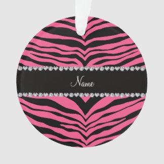 Personalice las rayas rosadas conocidas del tigre