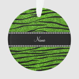 Personalice las rayas verdes de neón conocidas de