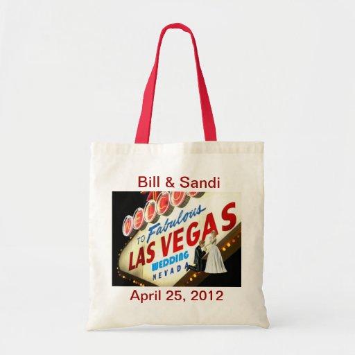 Personalice Las Vegas que casa el bolso Bolsas