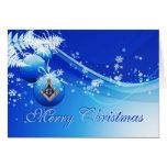 Personalice los saludos masónicos del navidad tarjetas