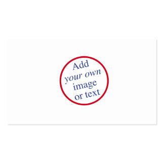 Personalice, modifique, cree sus los propios para tarjetas de visita