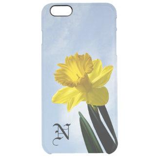 Personalice:  Narciso floral del amarillo de la Funda Clear Para iPhone 6 Plus