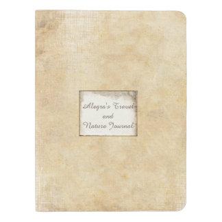 Personalice para decir cualquier cosa cuaderno de funda para libreta y libreta extra grande moleskin