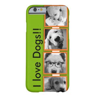 ¡Personalice su amor para los animales!!!! Funda De iPhone 6 Barely There